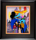 Music Memorabilia:Memorabilia, The Beatles Yellow Submarine Ltd. Ed Cel #11/175 Signed by George Martin (United Artists/King Features,1999). ...