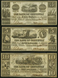 Obsoletes By State:Michigan, Sault De St. Marys, MI- Bank of Chippeway $3; $5; $10 Jan. 5, 1838 About Uncirculated.. ... (Total: 3 notes)