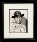 Movie/TV Memorabilia:Autographs and Signed Items, Frank Sinatra Signed and Inscribed Photo. ...