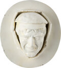 Baseball Collectibles:Others, 1912 Christy Mathewson Life Mask by Robert Baruch....