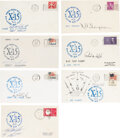 Explorers:Space Exploration, X-15: Group of Seven Signed Flight Covers. Outstan...