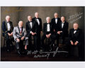 Explorers:Space Exploration, Charlie Duke, Walt Cunningham, and Fred Haise Signed Explo...