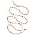 Estate Jewelry:Necklaces, Freshwater Cultured Pearl, Diamond, White Gold Necklace . ...