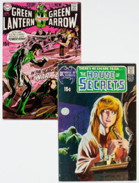 House of Secrets #92 and Green Lantern #77 Group (DC, 1970-71).... (Total: 2 )