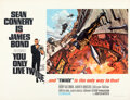 """Movie Posters:James Bond, You Only Live Twice (United Artists, 1967). Very Fine+ on Linen. British Quad (31.5"""" X 40.75"""") Style A, Frank McCarthy and R..."""