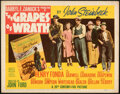 """Movie Posters:Drama, The Grapes of Wrath (20th Century Fox, 1940). Fine/Very Fine. Title Lobby Card (11"""" X 14"""").. ..."""