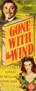 Movie Posters:Academy Award Winners, Gone with the Wind (MGM, 1939). Very Good- on Cardstock.