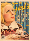 Movie Posters:Drama, Queen Christina (MGM, 1933). Fine/Very Fine on Linen.
