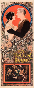 "Movie Posters:Adventure, The Beloved Rogue (United Artists, 1927). Fine-. Insert (14"" X 36"").. ..."