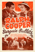 "Movie Posters:Black Films, Bargain with Bullets (Million Dollar Productions, 1937). Fine+ on Linen. One Sheet (27.5"" X 41"").. ..."