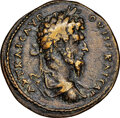 Ancients:Roman Provincial , Ancients: BITHYNIA. Nicaea. Lucius Verus (AD 161-169). AE (30mm, 16.86 gm, 6h). NGC VF 4/5 - 3/5, edge filing....