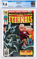 Bronze Age (1970-1979):Superhero, The Eternals #1 30-Cent Variant (Marvel, 1976) CGC NM+ 9.6 White pages....
