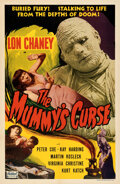 Movie Posters:Horror, The Mummy's Curse (Realart, R-1951). Very Fine on Linen.
