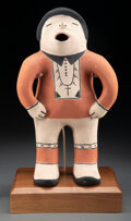 American Indian Art:Pottery, A Cochiti Polychrome Singer...