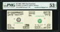 Insufficient Non-Magnetic Inking Error Fr. 1983-L $5 1993 Federal Reserve Note. PMG About Uncirculated 53 EPQ