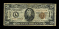 Small Size:World War II Emergency Notes, Fr. 2305* $20 1934A Hawaii Federal Reserve Note. Very Good-Fine.. ...