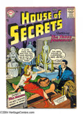 Silver Age (1956-1969):Mystery, House of Secrets #3 (DC, 1957) Condition: VG-. Jack Kirby coverart. Interior artists include: Mort Meskin, Kirby, Henry Bol...