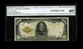 Small Size:Gold Certificates, Fr. 2408 $1000 1928 Gold Certificate. CGA Extremely Fine 40.. ...