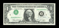 Error Notes:Inverted Third Printings, Fr. 1908-C $1 1974 Federal Reserve Note. Very Choice CrispUncirculated.. ...