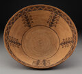 American Indian Art:Baskets, A Mission Coiled Bowl ...