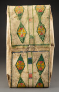 American Indian Art:Pipes, Tools, and Weapons, A Plateau Painted Parfleche Envelope ...