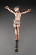 American Indian Art:Wood Sculpture, A New Mexican Christo ... (Total: 0 )