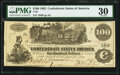 Confederate Notes:1862 Issues, Issued at San Antonio, TX T39 $100 1862 PF-5 Cr. 290 PMG Very Fine 30.. ...