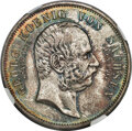 "German States:Saxony, German States: Saxony. Friedrich August III ""Death of Georg"" 5 Mark 1904-E MS68 NGC,..."