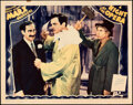 Movie Posters:Comedy, A Night at the Opera (MGM, 1935). Very Fine+. Lobb...