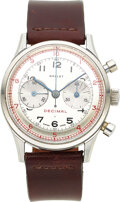 Timepieces:Wristwatch, Gallet, Rare MultiChron 45 Decimal, Third Series, Cal. EP ...