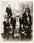 Explorers:Space Exploration, NASA Astronaut Group Two: Photo Signed by Eight (Conrad Autopen), with PSA/DNA LOA. ...