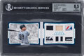 Baseball Cards:Singles (1970-Now), 2017 Panini National Treasures Armory Materials Booklet Platinum Aaron Judge #5 BGS NM-MT+ 8.5- 1 of 1. ...