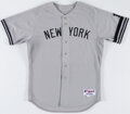 Baseball Collectibles:Uniforms, 2007 Andy Pettitte Team Issued New York Yankees Jersey....