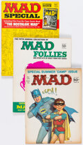 Magazines:Mad, MAD Group of 13 (EC, 1960-84) Condition: Average FN/VF.... (Total: 13 Comic Books)