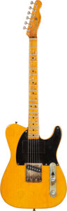Musical Instruments:Electric Guitars, Circa 1950 Fender Broadcaster Solid Body Electric Guitar Formerly Owned By Danny Gatton, Serial #0058.. ...