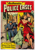 Golden Age (1938-1955):Crime, Authentic Police Cases #10 (St. John, 1950) Condition: VG/FN....