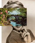 Works on Paper, John Stezaker (b. 1949). Mask CXIX, 2011. Collage on paper. 9-1/2 x 7-3/4 inches (24.1 x 19.7 cm). ...