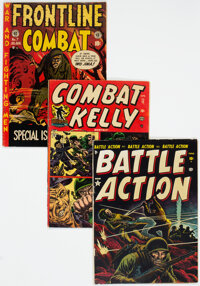 Golden Age War Related Comics Group of 20 (Various Publishers, 1952-54) Condition: VG.... (Total: 20 )