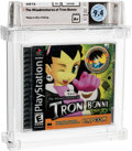 Video Games:Playstation, The Misadventures of Tron Bonne - Wata 9.4 A+ Sealed, PS1 Capcom 2000 USA....