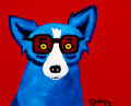 Paintings, George Rodrigue (1944-2013). I'll Be Seeing You, 1996. Oil on canvas. 11 x 14 inches (27.9 x 35.6 cm). Signed lower righ...