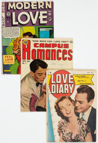 Golden Age Romance Comics Group of 38 (Various Publishers, 1949-55) Condition: Average GD/VG.... (Total: 38 )