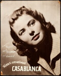 Movie Posters:Academy Award Winners, Casablanca (Warner Bros., 1943). Fine. Oversized S...