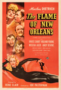 "Movie Posters:Romance, The Flame of New Orleans (Universal, 1941). Very Fine- on Linen. One Sheet (27"" X 41"") Style C, Alberto Vargas Artwork.. ..."