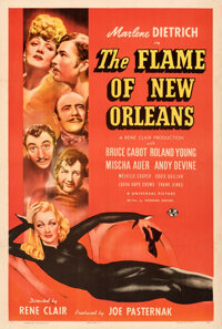 """The Flame of New Orleans (Universal, 1941). Very Fine- on Linen. One Sheet (27"""" X 41"""") Style C, Alberto Vargas..."""