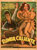 "Movie Posters:Musical, Rumba Caliente (Mier and Brooks, 1952). Folded, Fine/Very Fine. Mexican One Sheet (26.75"" X 36.5"") Ernesto Garcia Cabral Art..."