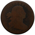 Large Cents, 1799 1C S-189, B-3, R.2, Fair 2 PCGS. PCGS Population: (4/24 and 0/0+). NGC Census: (1/19 and 0/0+). . From The Ed Lei...
