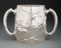 Silver & Vertu, A Dominick & Haff Aesthetic Movement Silver Two-Handled Trophy Cup, New York, 1887. Marks: (rectangle/925-circle-diamond/188...