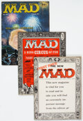 Magazines:Mad, MAD #24, 29, and 34 Group Magazine Group (EC, 1955-57) Condition: Average GD.... (Total: 4 Comic Books)