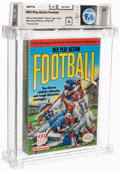 Video Games:Nintendo, NES Play Action Football - Wata 9.4 A Sealed, NES Nintendo 1990 USA. ...