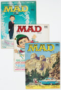 Magazines:Mad, MAD #31, 33, and 40 Group of 8 (EC, 1957-58) Condition: Average VG.... (Total: 8 Comic Books)